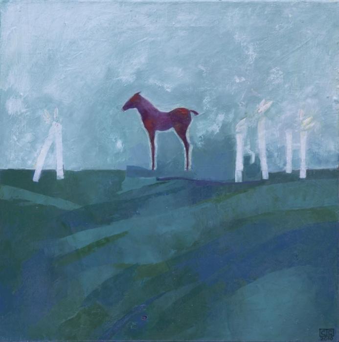 NorthAcrylic  on Canvas50 x 50 cm