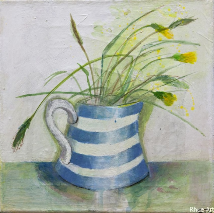 Yellow FlowersAcrylic  on Canvas30 x 30 cm