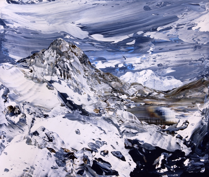 Baosbheinn and Liathach acrylic on canvas 43 x 51 cm 2014