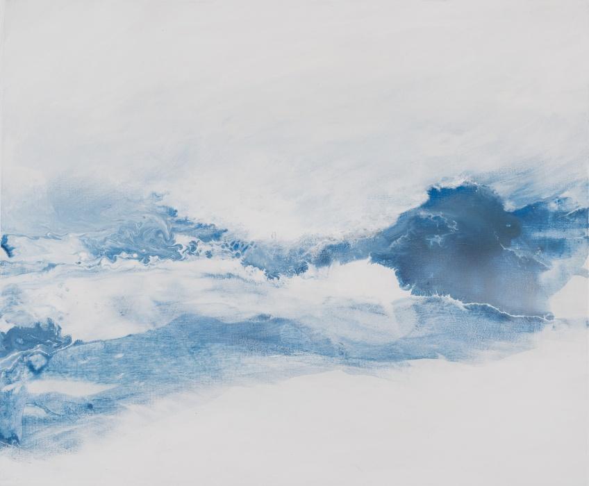 Ocean WritingWatercolour