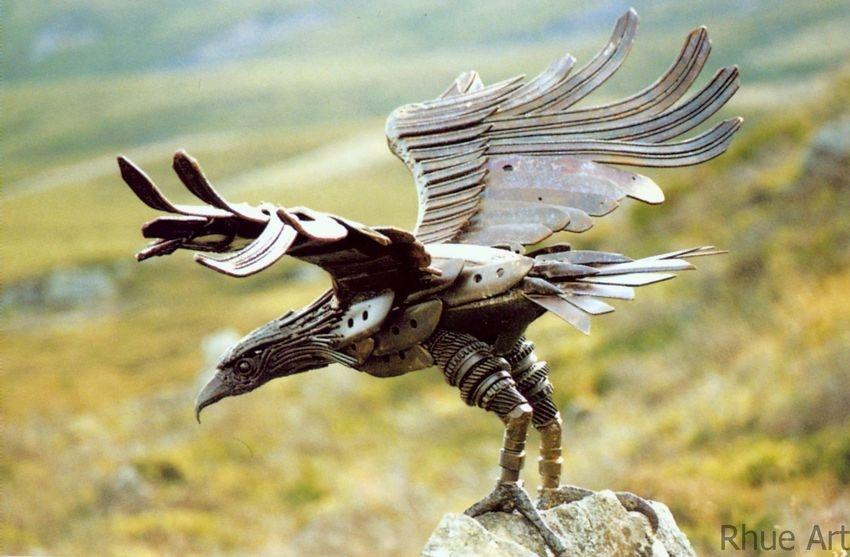 Glen Desky EagleAssorted Scrap metal6 x 3 x 3 feet2007