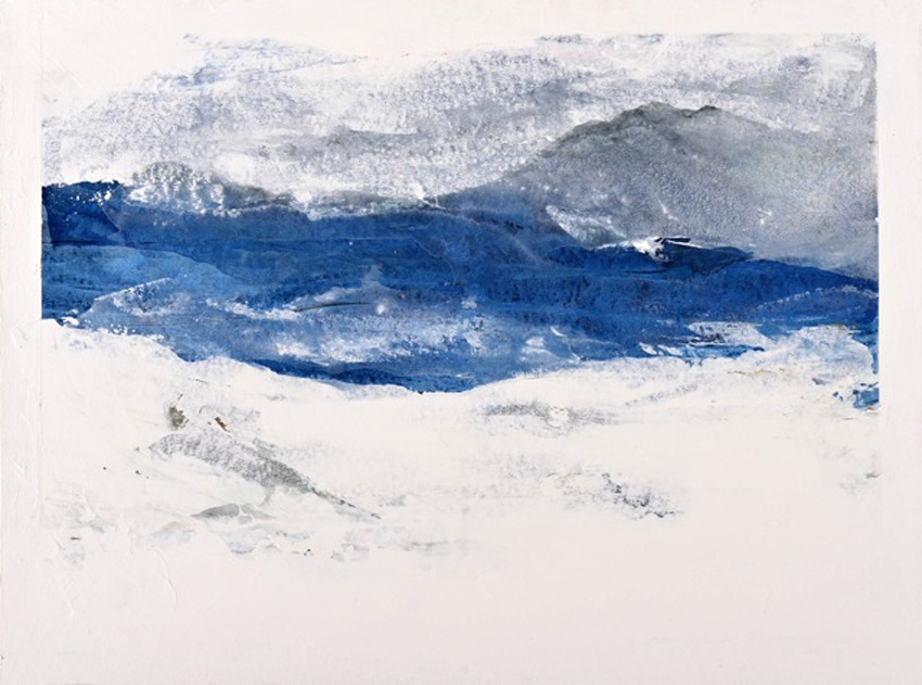 Storm late on the west coast of SkyeWatercolour