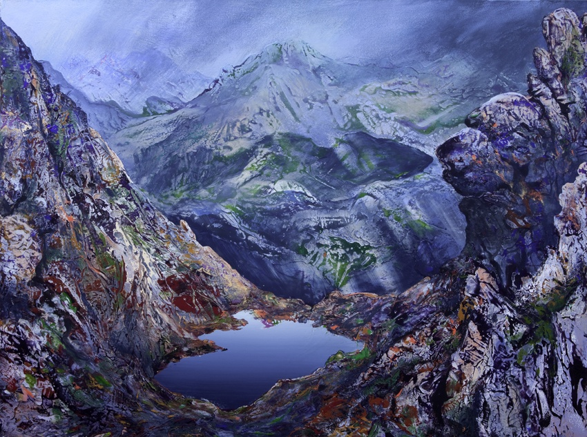 Loch Toll an Lochan An TeallachAcrylic on Canvas92 x 122cm