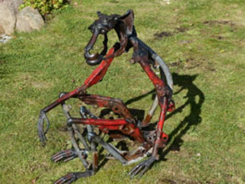 ApeAssorted Scrap Metal