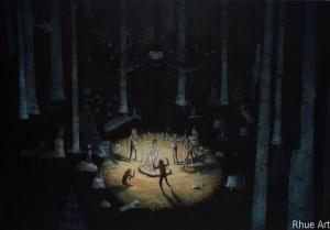 The ConjurersAcrylic on Canvas135 x 92 cm 2009