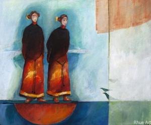 lost SoulsAcrylic  on Canvas60 x 50 cm