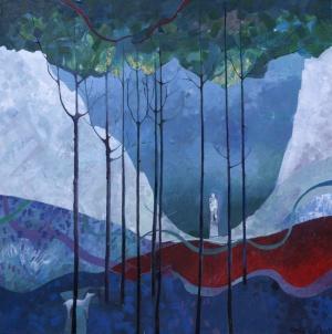 Farthest NorthAcrylic  on Canvas80 x 80 cm