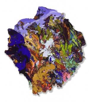 Seanna BhraighAcrylic on paper on carbon fibre56 cm x 61 cm2014